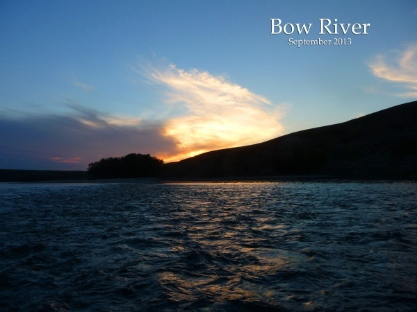 The Bow at sunset