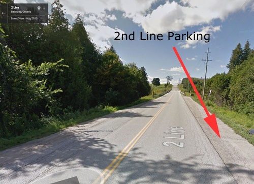 2nd Line Parking
