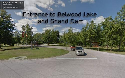 Entrance to Belwood Lake