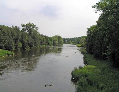 View from Weisenberg Iron Bridge